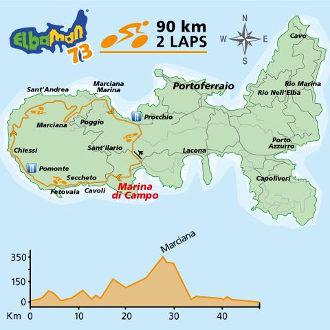 Percorso Elbaman73 Bici